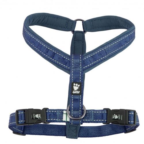 hurtta casual Y dog harness river blue
