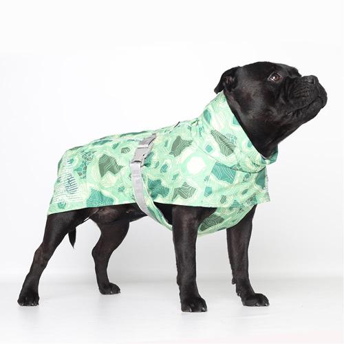 hurtta extreme dog warmer coat park camo