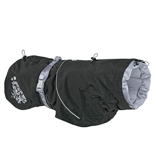 hurtta monsoon dog coat blackberry black