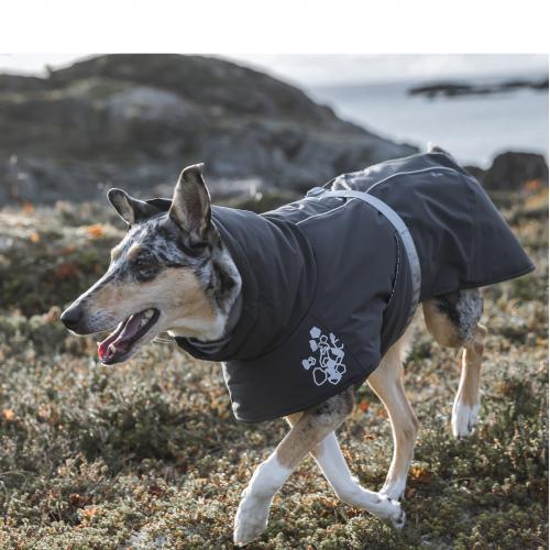 New Hurtta Extreme warmer dog coat Blackberry