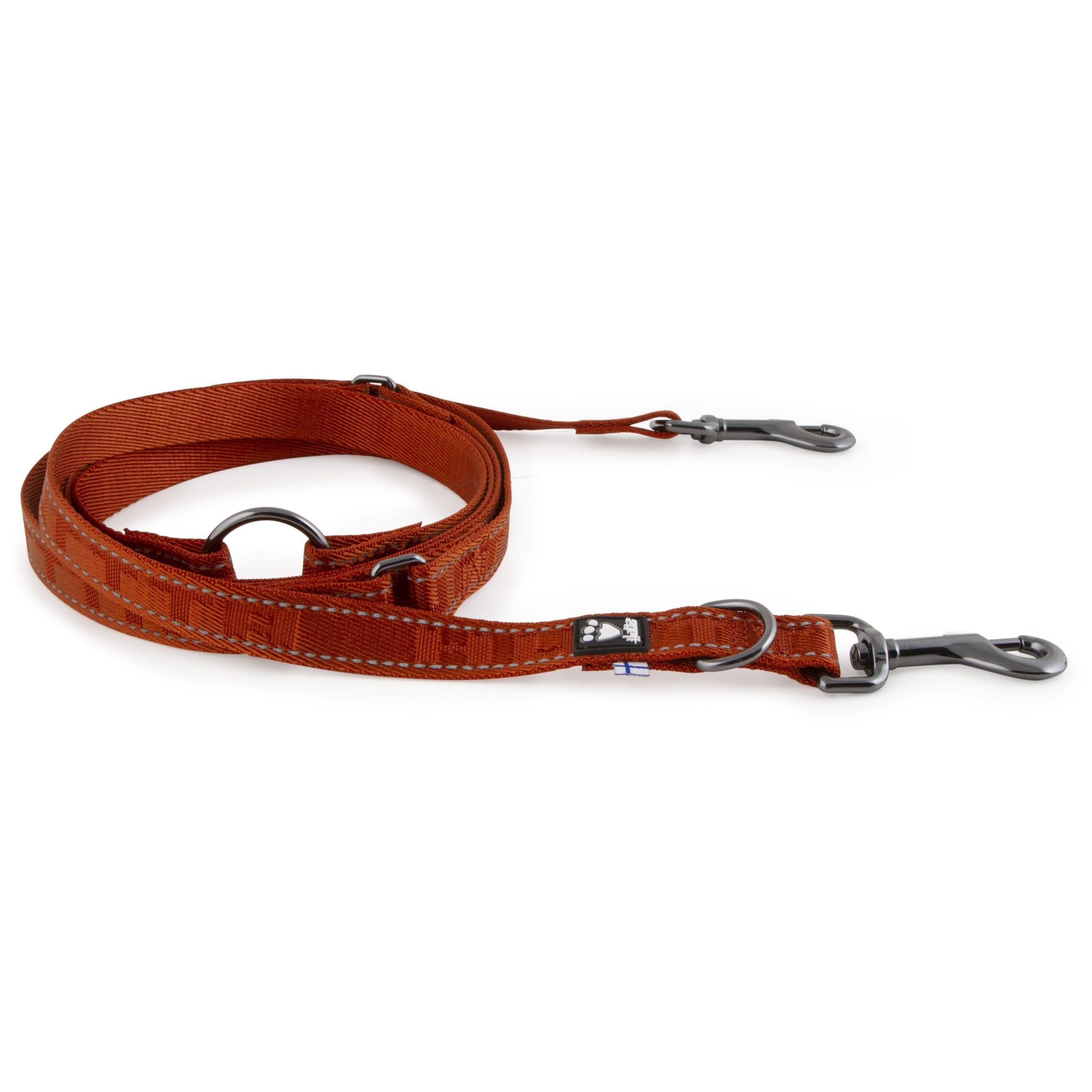 Hurtta casual dog training leash cinnamon