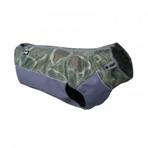 Hurtta green camo worker dog vest coat jacket