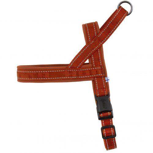 hurtta dog harness cinnamon