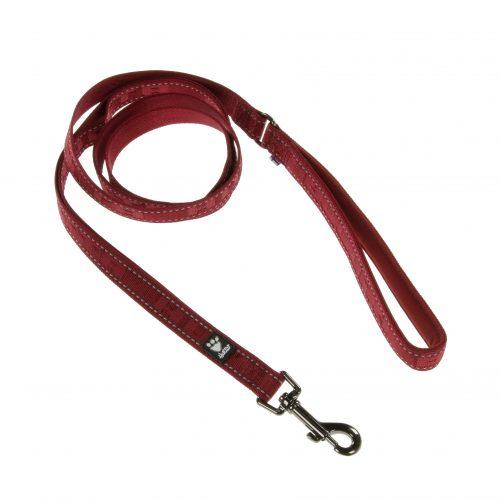 Hurtta Casual reflective dog leash lead lingon red