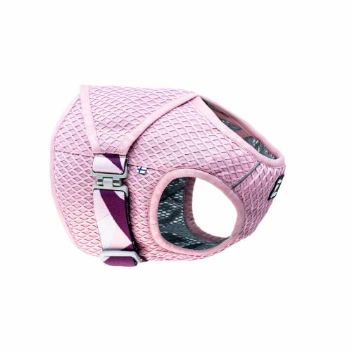 hurtta dog cooling wrap vest summer pink carnation